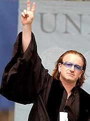 Bono Watches His Tongue