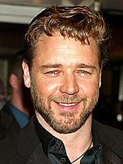 Leaner Russell Crowe Plays Host