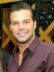 A Pricey Dinner with Ricky Martin