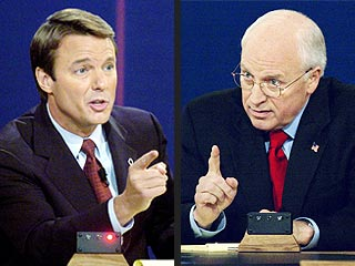 Vice-Presidential Debate: Cheney vs Edwards : NPR