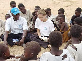 Angelina Jolie Shocked by Sudan Visit