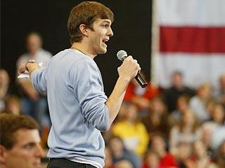 Ashton Kutcher: Bush Had Me Punk'd