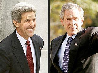 Bush Claims Victory, Kerry Tight-Lipped