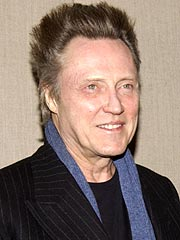 Christopher Walken Honored for Dark Roles