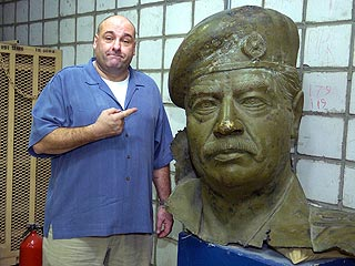 Sopranos Mob Boss Greets U.S. Soldiers