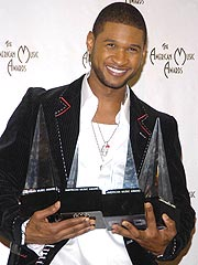 Usher Wins Big at American Music Awards