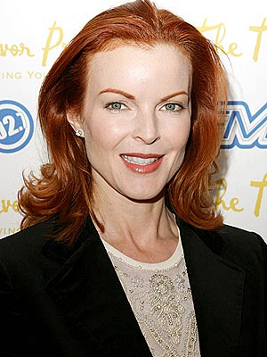 Marcia Cross's Holiday Chill