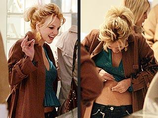 Britney Gets Her Belly Ring Back