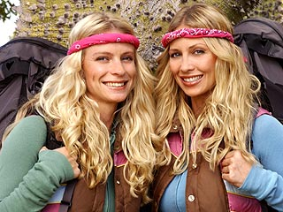 The Amazing Race's Megan and Heidi