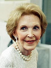 Nancy Reagan Briefly Hospitalized