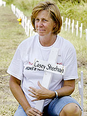 Cindy Sheehan Leaves Texas to Aid Mother