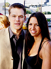 Matt Damon & Girlfriend Marry