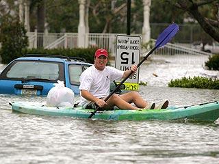 Florida Residents Survey Wilma's Damage
