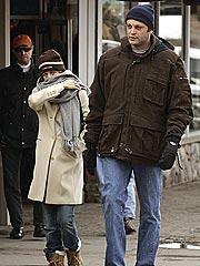 Jen & Vince Snuggle in Aspen
