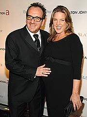 Diana Krall, Elvis Costello Welcome Twins