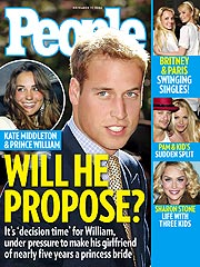 COVER STORY: Is Prince William Ready to Wed?