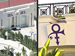 Prince Sued for Painting House Purple