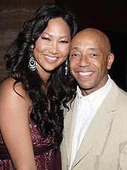 Russell Simmons Okay with Kimora & Djimon