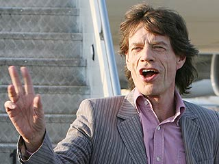 Mick Jagger Starts Up a Dance Party in N.Y.C.
