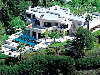 Ashley Simpson mansion in Encino