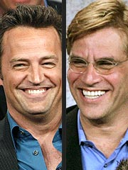 Matthew Perry & Aaron Sorkin Joke About Drugs