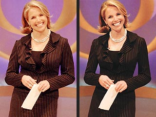 Katie Couric 'Loses' 20 Lbs. – Digitally