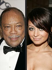 Quincy Jones: Nicole Richie Is 'Caught Up in Hoopla'