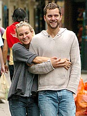 Joshua Jackson & Diane Kruger Go to the Movies
