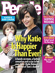 Katie Holmes: Happier Than Ever