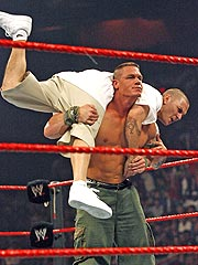 Kevin Federline 'Defeats' WWE Champ John Cena