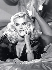 FROM THE ARCHIVES: Anna Nicole Smith Models for Guess Jeans (1993)