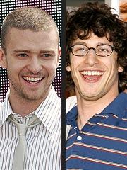 Justin Timberlake, Andy Samberg Reunite at NYC Concert