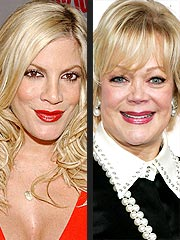 Tori Spelling Reconciling with Her Mom