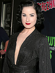 Dita Von Teese on Marilyn Manson: 'We're Not Friends'