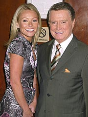 Regis Philbin Returns to  Live with Regis and Kelly