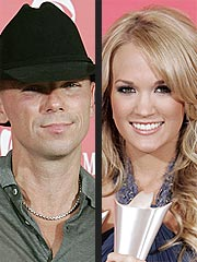 Kenny Chesney, Carrie Underwood Top Academy of Country Music Awards