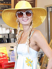 Paris Hilton Parties as Jail Time Approaches