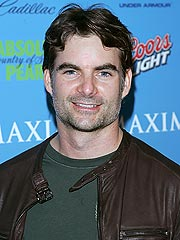 New Dad Jeff Gordon: I Sleep at the Racetrack