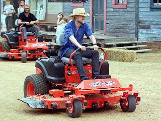 Owen Wilson's Lawn Mower Ride to Recovery