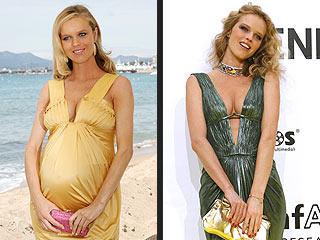 Eva Herzigova Is Confident She'll Shed Baby Weight