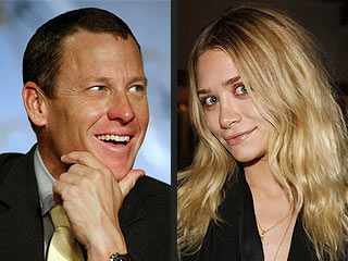 Odd Pairing: Ashley Olsen and Lance Armstrong?!