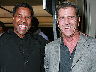 Mel Gibson Shows Up at American Gangster Premiere