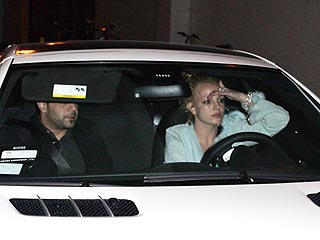 Britney's Car Claims Another Photographer's Foot