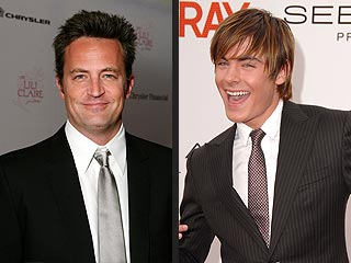Matthew Perry Morphs into Zac Efron for New Movie