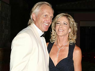 Greg Norman and  Chris Evert Are Engaged