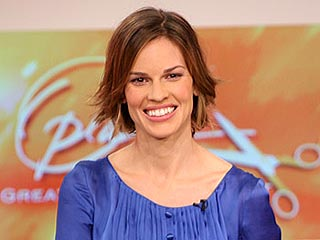 Hilary Swank's New Hairdo Unveiled