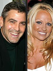 George Clooney Denies Having Date with Pam Anderson