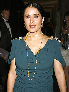 Salma Hayek Leads Fight Against Tetanus