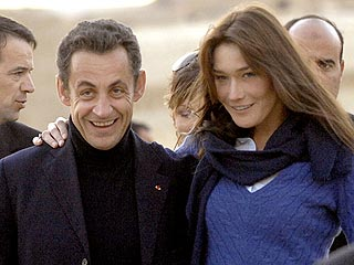 French Prez & Model: Already Married?