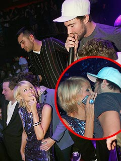 Brody Jenner Denies Smooching Paris Hilton